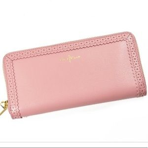 Cole Haan Gladstone Leather Zip Around Wallet